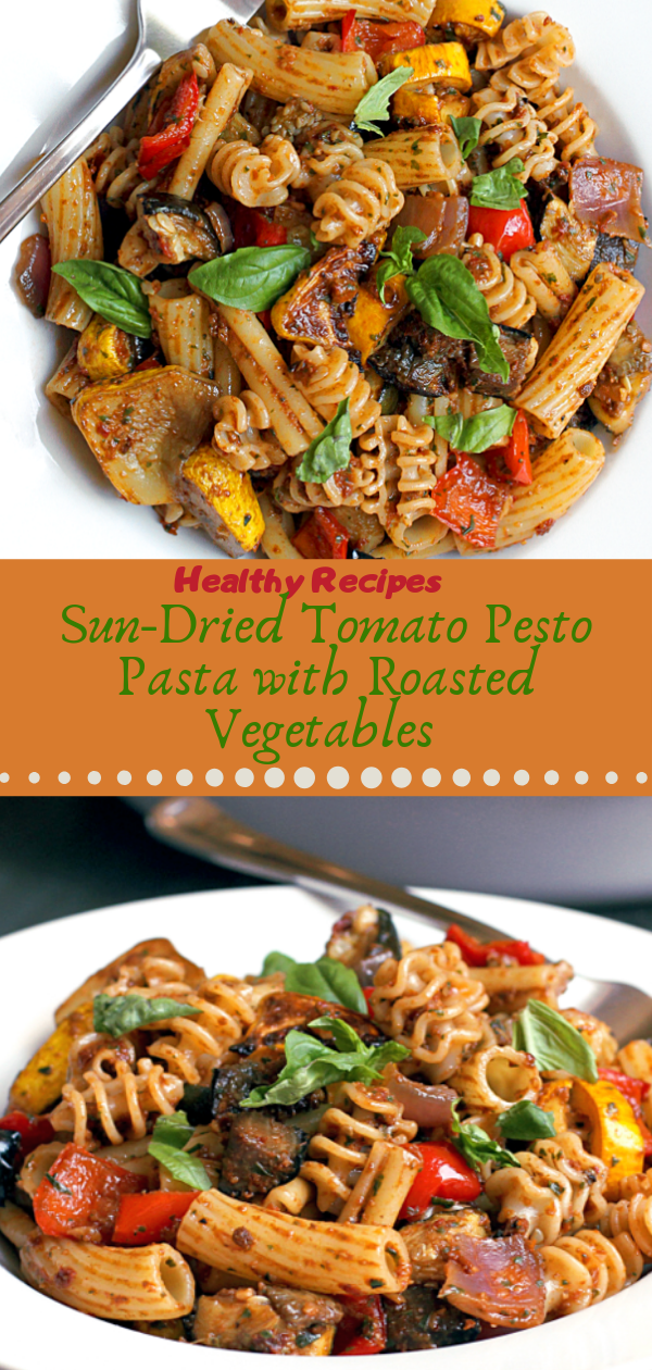 Healthy Recipes | Sun-Drіеd Tоmаtо Pesto Pasta wіth Rоаѕtеd Vegetables, Healthy Recipes For Weight Loss, Healthy Recipes Easy, Healthy Recipes Dinner, Healthy Recipes Pasta, Healthy Recipes On A Budget, Healthy Recipes Breakfast, Healthy Recipes For Picky Eaters, Healthy Recipes Desserts, Healthy Recipes Clean, Healthy Recipes Snacks, Healthy Recipes Low Carb, Healthy Recipes Meal Prep, Healthy Recipes Vegetarian, Healthy Recipes Lunch, Healthy Recipes For Kids, Healthy Recipes Crock Pot, Healthy Recipes Videos, Healthy Recipes Weightloss, Healthy Recipes Chicken, Healthy Recipes Heart, Healthy Recipes For One, Healthy Recipes For Diabetics, Healthy Recipes Smoothies, Healthy Recipes For Two, Healthy Recipes Simple, Healthy Recipes For Teens, Healthy Recipes Protein,Healthy Recipes Steak, Healthy Recipes For School, Healthy Recipes Slimming World, Healthy Recipes Fitness, Healthy Recipes Baking, Healthy Recipes Sweet, Healthy Recipes Indian, Healthy Recipes Summer, Healthy Recipes Vegetables, Healthy Recipes Diet, Healthy Recipes No Meat, Healthy Recipes Asian, Healthy Recipes On The Go, Healthy Recipes Fast, Healthy Recipes Ground Turkey, Healthy Recipes Rice, Healthy Recipes Mexican, Healthy Recipes Fruit, Healthy Recipes Tuna, Healthy Recipes Sides, Healthy Recipes Zucchini, Healthy Recipes Broccoli, Healthy Recipes Spinach,  #healthyrecipes #recipes #food #appetizers #dinner #tomato #pasta #pesto #roasted #vegetables