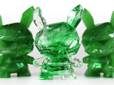 """Shard Jade Edition Dunny 3"""" Resin Figure by Scott Tolleson"""