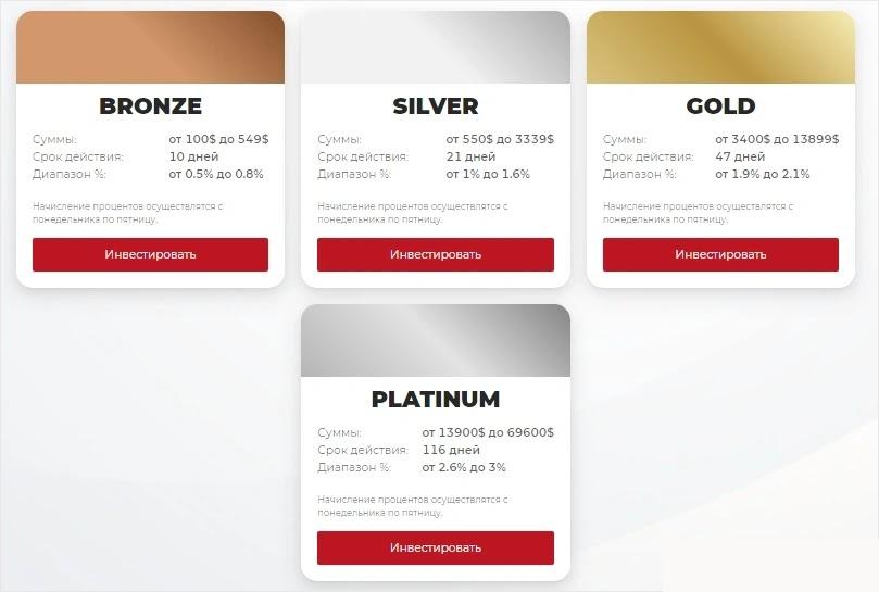 Инвестиционные планы Millenium Groupe