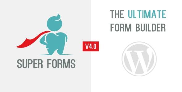 Download Super Forms - Drag & Drop Form Builder v4.9.800 + Addons for free
