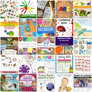 Bundle of back to school printables