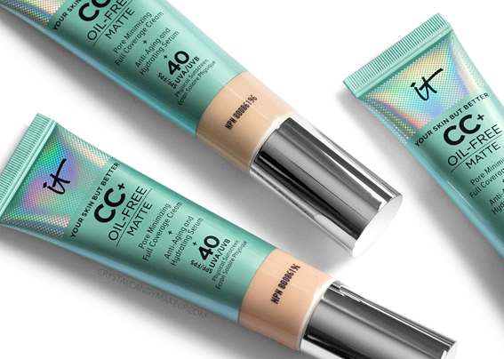 It Cosmetics Your Skin But Better CC Cream Oil Free Matte Foundation Review
