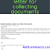 Authorization letter for collecting documents - sample word