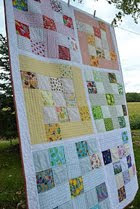 Modern I Spy Quilt Tutorial