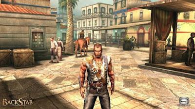 Videojuego Backstab aventura gameloft