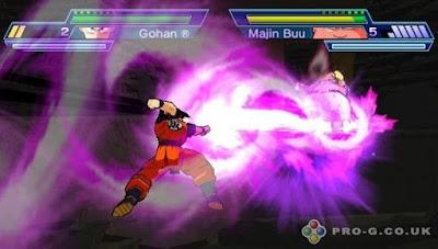 Dragon Ball Z Shin Budokai 2 PPSSPP PSP ISO