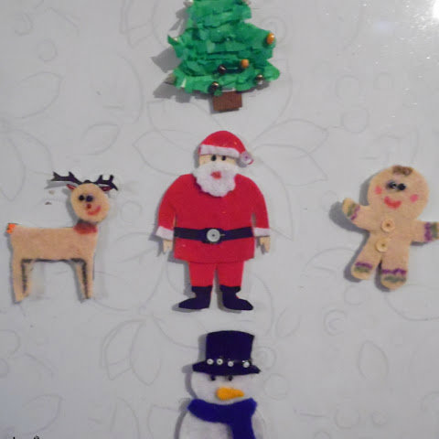 navidad refrigerador