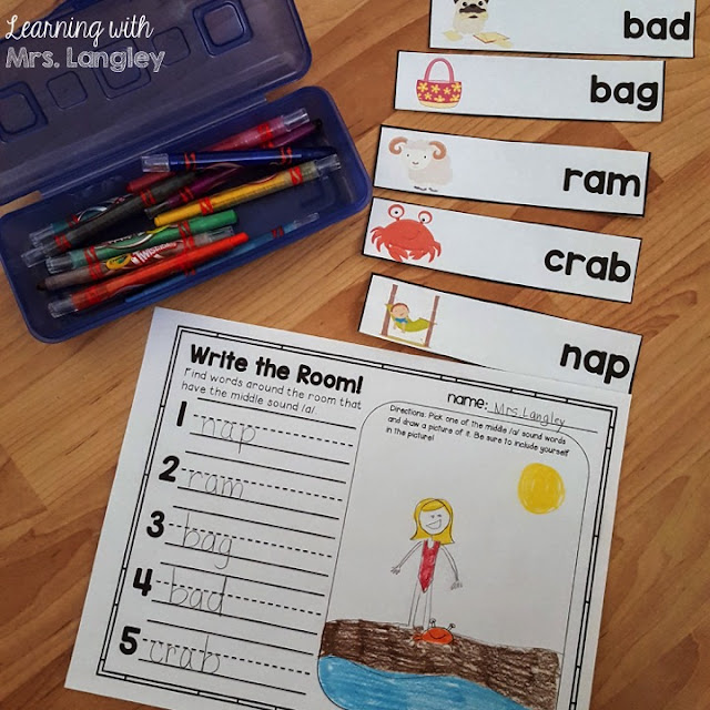 Our favorite center tools! There are certain tools that we use in our kindergarten classroom that last as favorites all year long! These Reading Street centers make for easy prep and high student engagement with a few fun tools. Cut and glue, sight word stamping, high frequency word little books, word searches, and more!