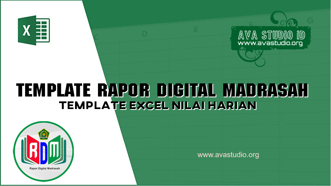 [Excel] Template Excel RDM 2021 - Penilaian Harian