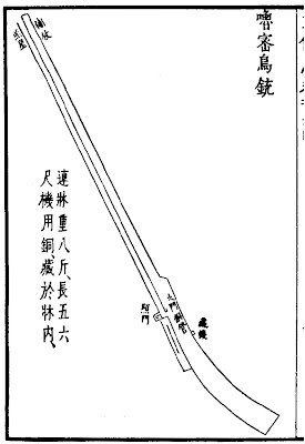 Chinese Rack and Pinion Matchlock