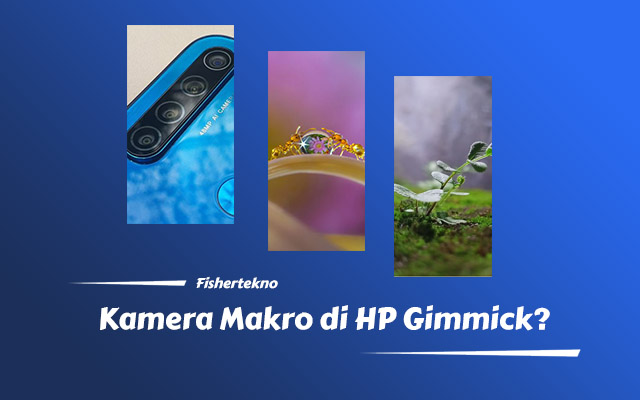 Diskus Kamera Makro HP