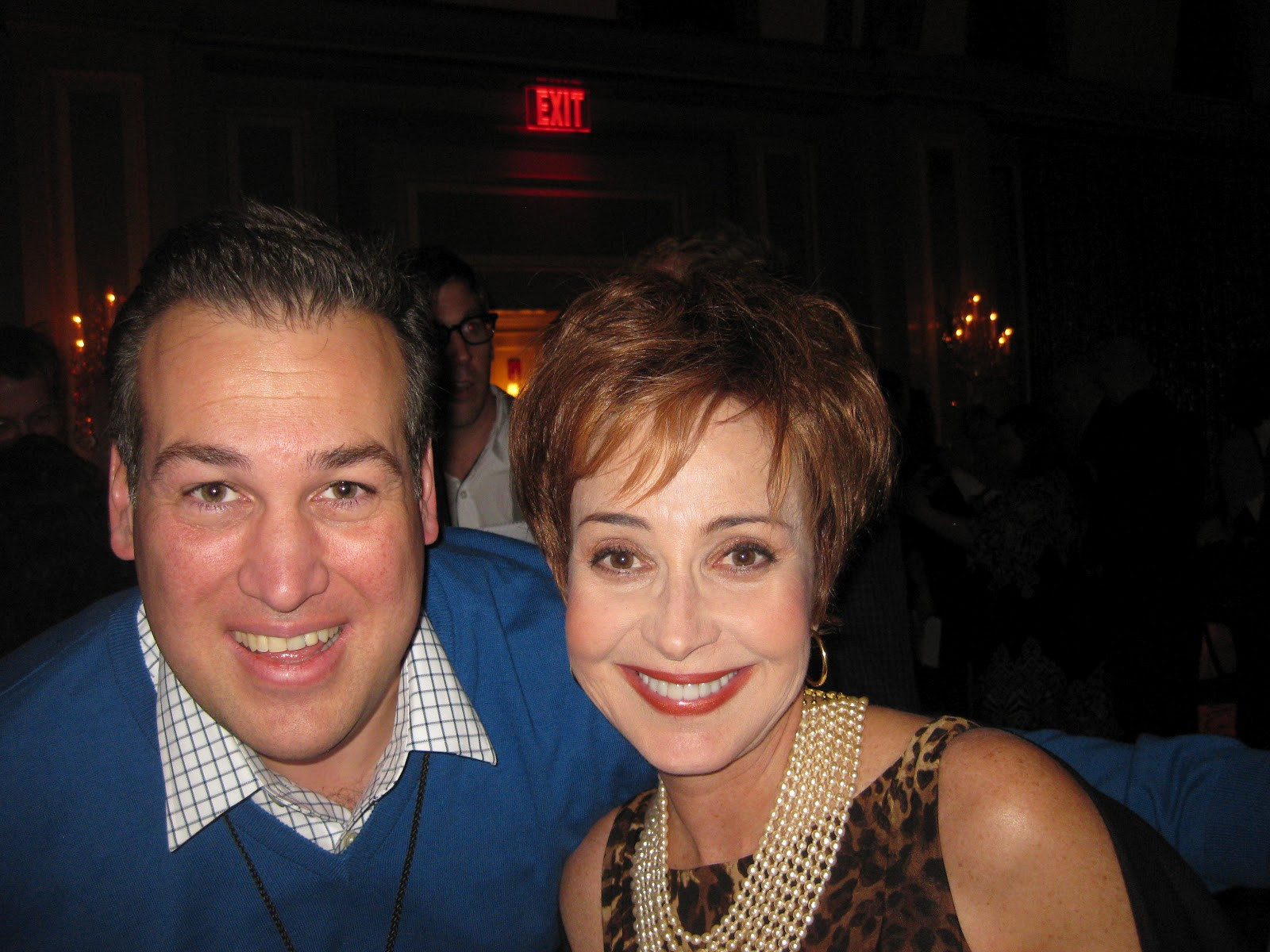 With The At That Point Soon To Be Gcb Star Annie Potts Tca Convention In Pasadena Ca January 2017