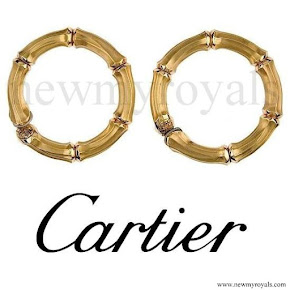 Queen Maxima jewelry  CARTIER Earrings
