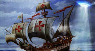OVNI avistado por Colón