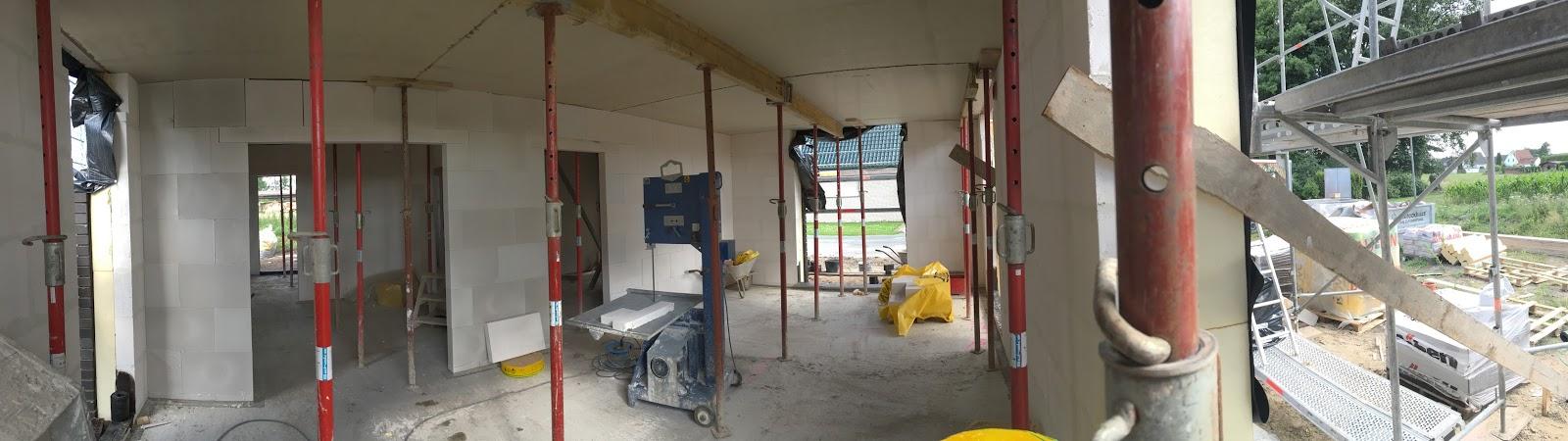 wir bauen ein viebrockhaus maurerarbeiten tag 3 erdgeschossdecke. Black Bedroom Furniture Sets. Home Design Ideas