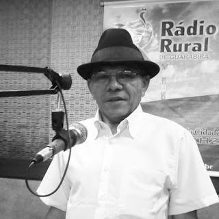 Vereador Nal Fernandes lamenta morte do poeta Zezinho da Borborema.