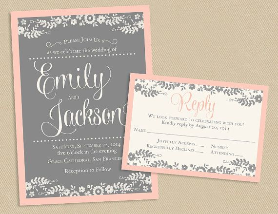 Wedding Invitations Package Deals