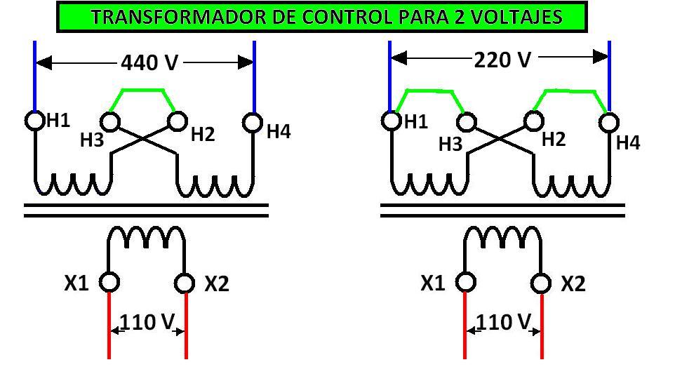 Coparoman transformador de control - Transformador 220 a 110 ...