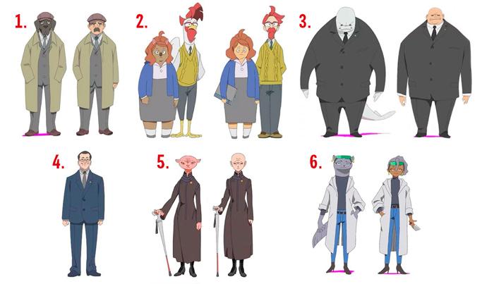 Brand New Animal (BNA) anime - personajes