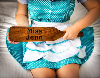 Miss Jenn padddles