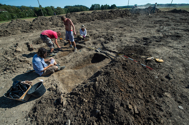 Rare silver coins from 13th century discovered in South Bohemia