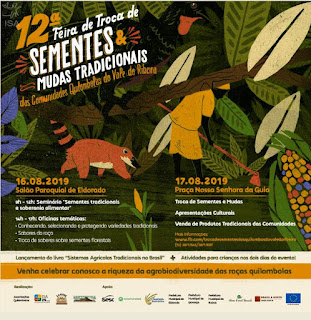 12ª Feira de Troca de Sementes e Mudas dos Quilombos do Vale do Ribeira