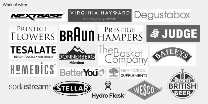 Brands we have worked with