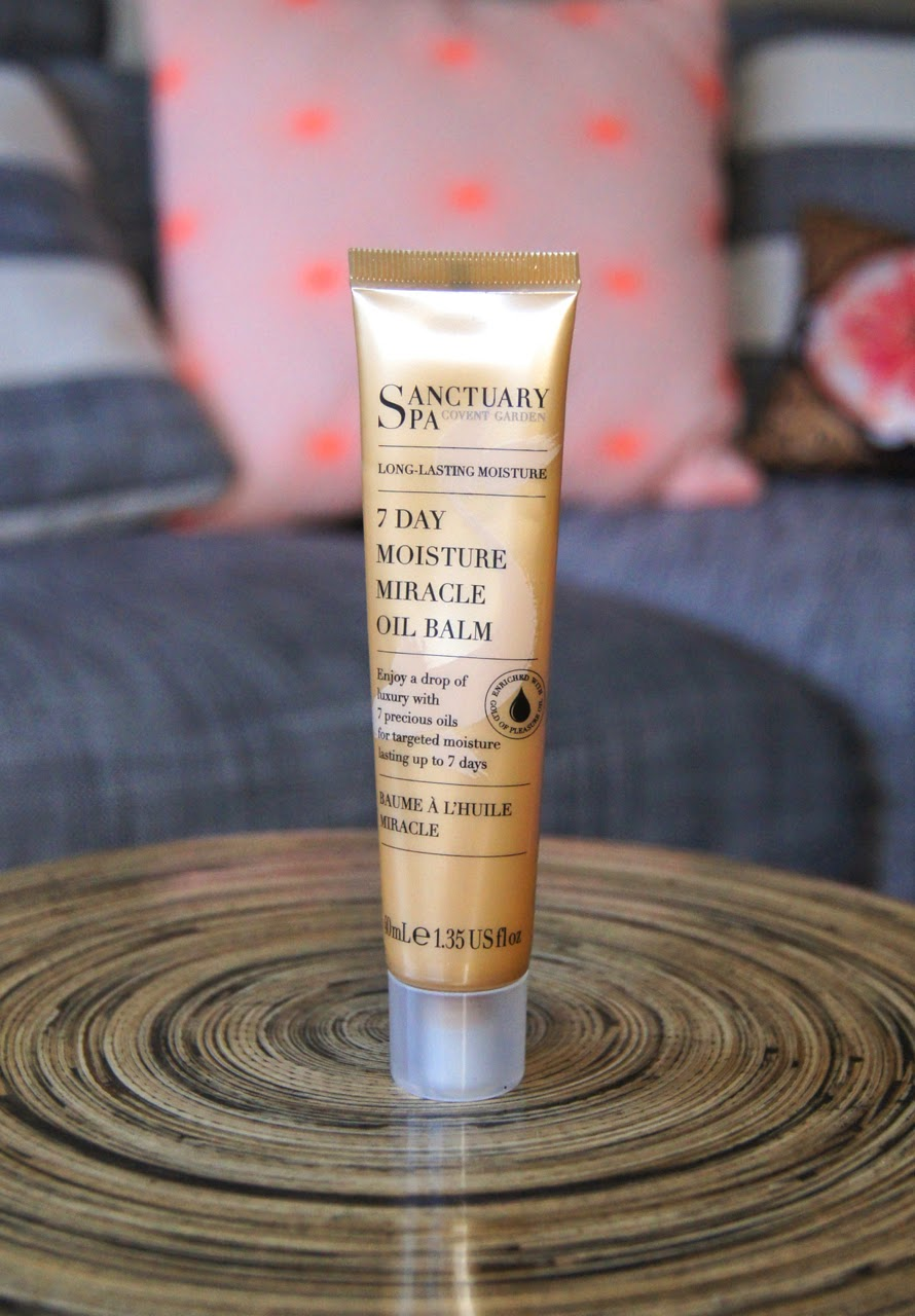 sanctuary spa 7 day moisture miracle oil balm review