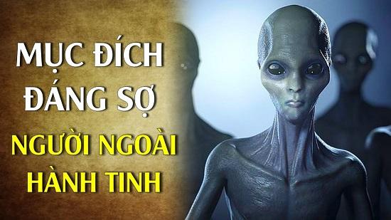Tiết lộ mục đích không ngờ của các chủng người ngoài hành tinh đến trái đất