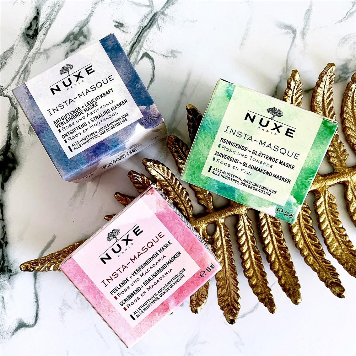 Nuxe Insta-Masque blog