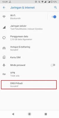 Cara Membuka Website yang Diblokir oleh Pemerintah di Android dengan Public DNS.