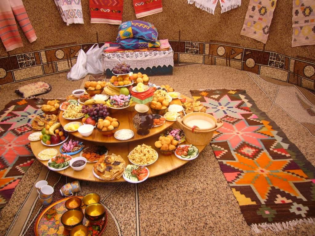 Alimentación país Kazajistán