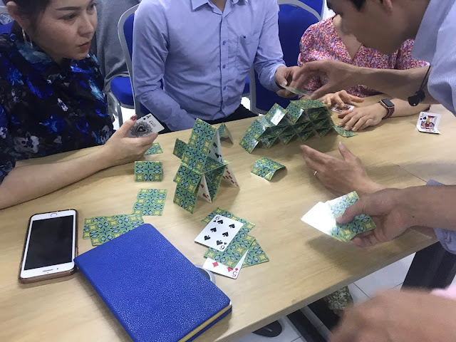 Diễn giả Nguyễn Quốc Chiến đào tạo về Teamwork