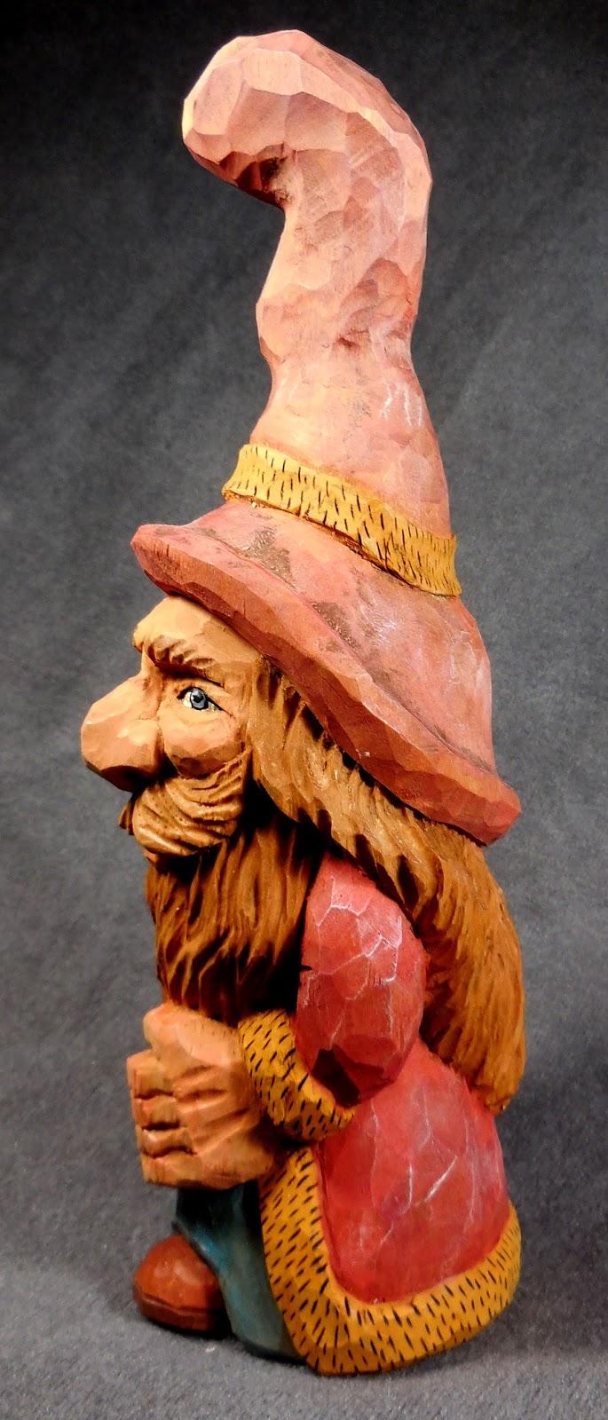 North idaho carver: woodsman
