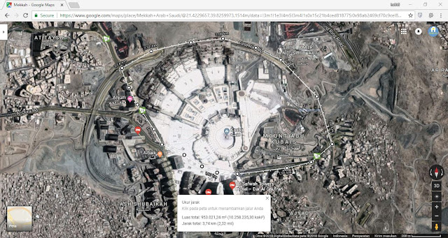 Cara Mengukur Luas Lahan pakai Google Maps