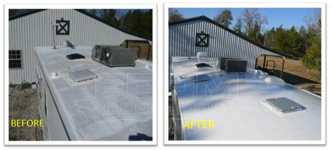 Rv Liquid Roof Rv Coatings An Essential Part Of Maintenance