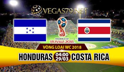 Nhận định - Soi kèo Honduras vs Costa Rica