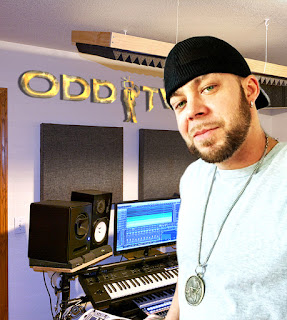 matt procella in his music studio