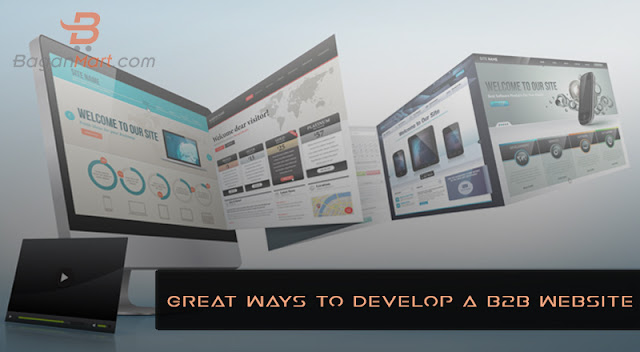 great ways to develop a b2b website