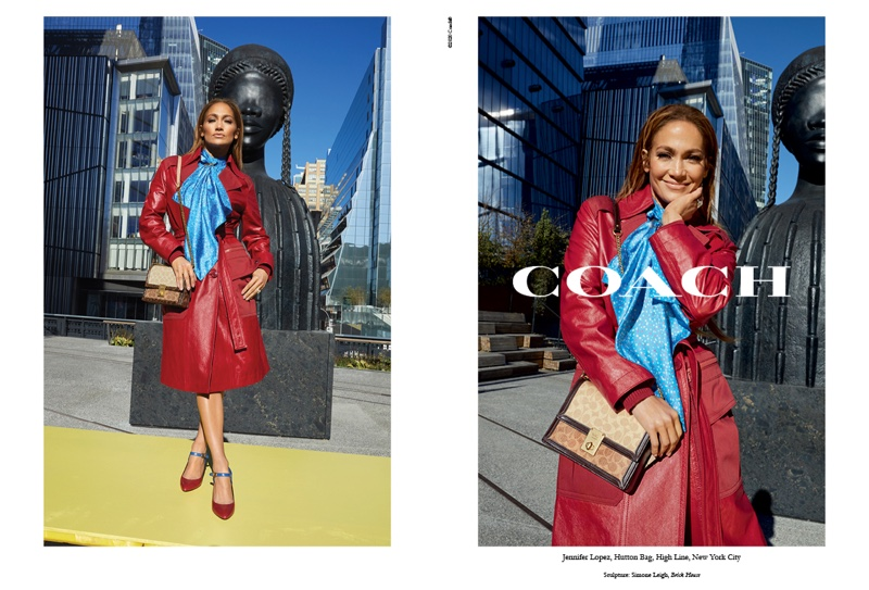 Jennifer Lopez for Coach Spring 2020 Campaign