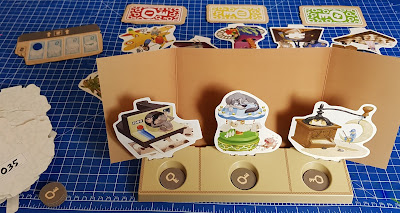 One Key Family Game Review Leader screen and Clue Cards