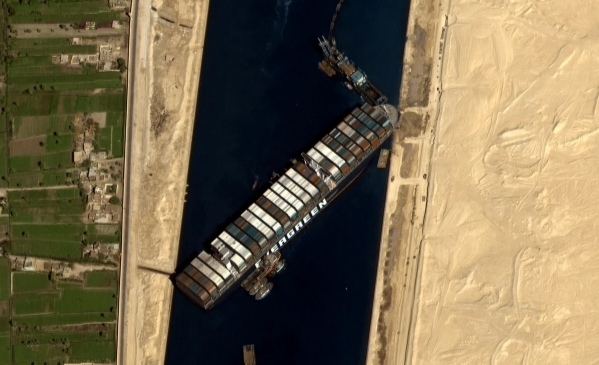 Cargo ship stays stuck in Egypt's Suez Canal for fifth day after exertion to free it fizzled, carthage news