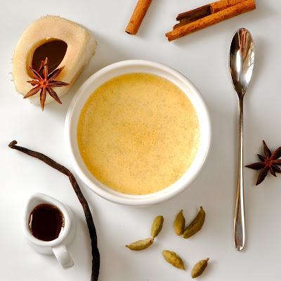 Sweet Spiced Vanilla Bean Bone Marrow Custard