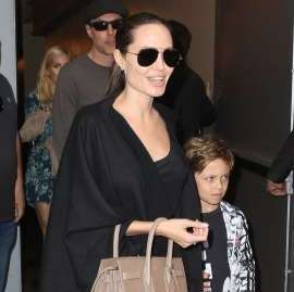 FBI visits Angelina Jolie and children to discuss airplane incident