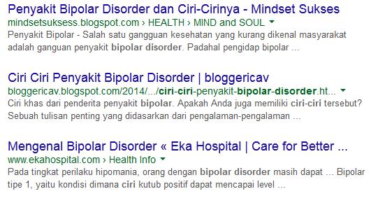 gangguan bipolar disorder