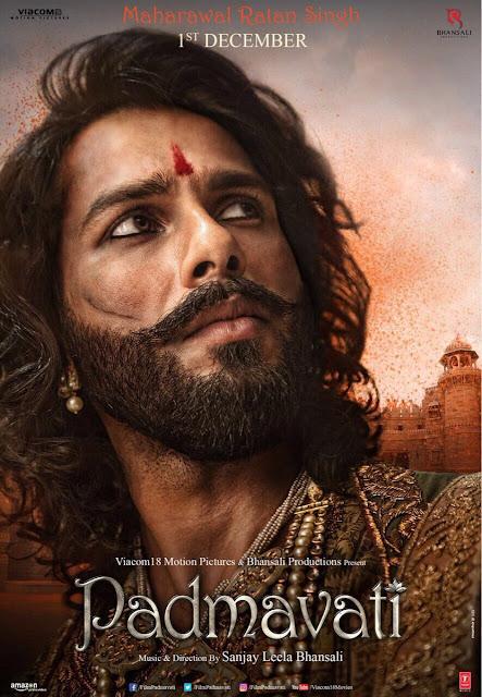 Padmavati Shahid Kapoor New Poster