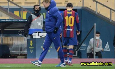 barcelona coach ronald koeman messi 2021