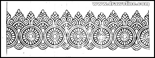 saree border embroidery designs images, Embroidery design picture, Embroidery pic free download