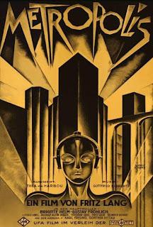 Cartel de la película Metrópolis de Fritz Lang - 1926
