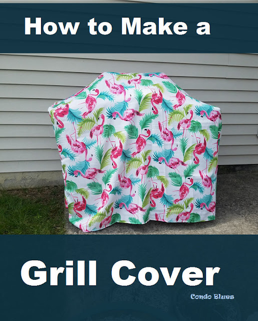 how to make a replacement gas BBQ grill cover